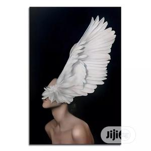 Feather Nude Body Art Painting 30*45cm Canvas Wall   Home Accessories for sale in Lagos State, Magodo