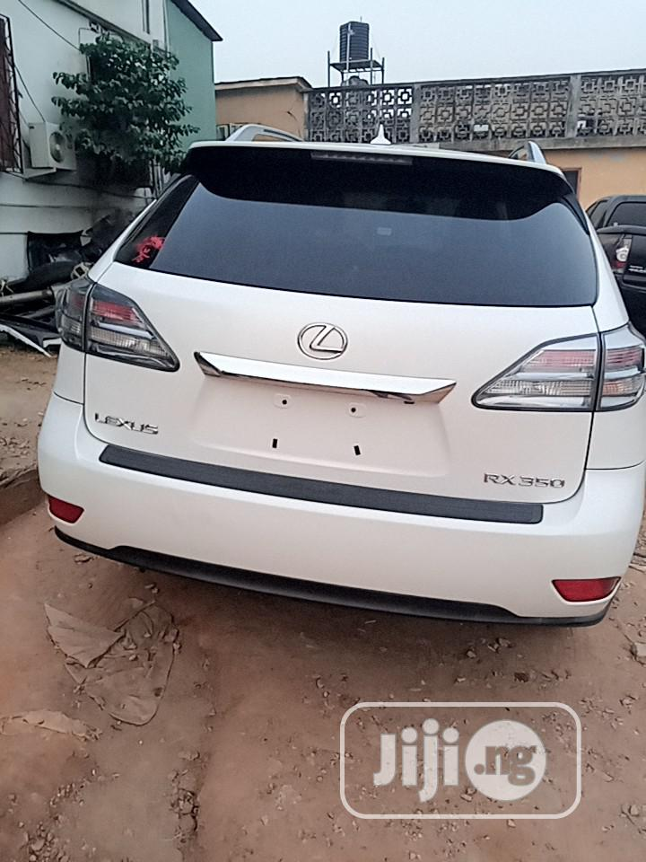 Lexus RX 2010 350 White   Cars for sale in Ibadan, Oyo State, Nigeria