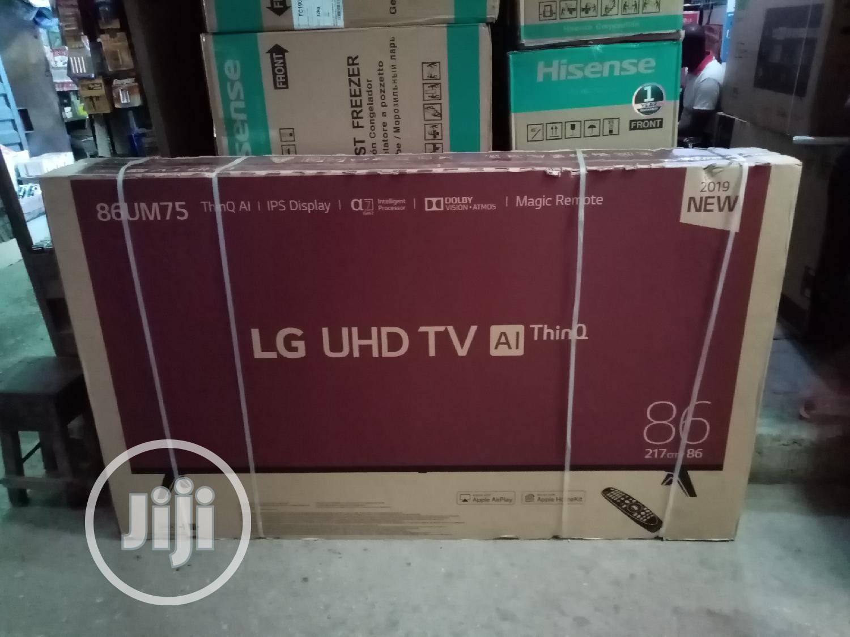 Archive: Brand New LG 86inche Smart TV With HDMI AV USB