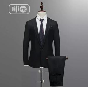 Men Suit (Black)   Clothing for sale in Lagos State, Ojo