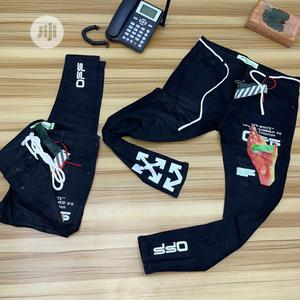 Off White Joggers and Jeans   Clothing for sale in Lagos State, Lekki