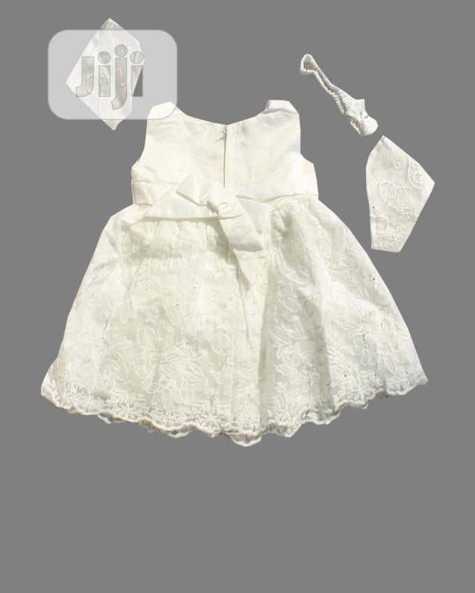 Baby Ball Dress-Pink. And White | Children's Clothing for sale in Ojota, Lagos State, Nigeria