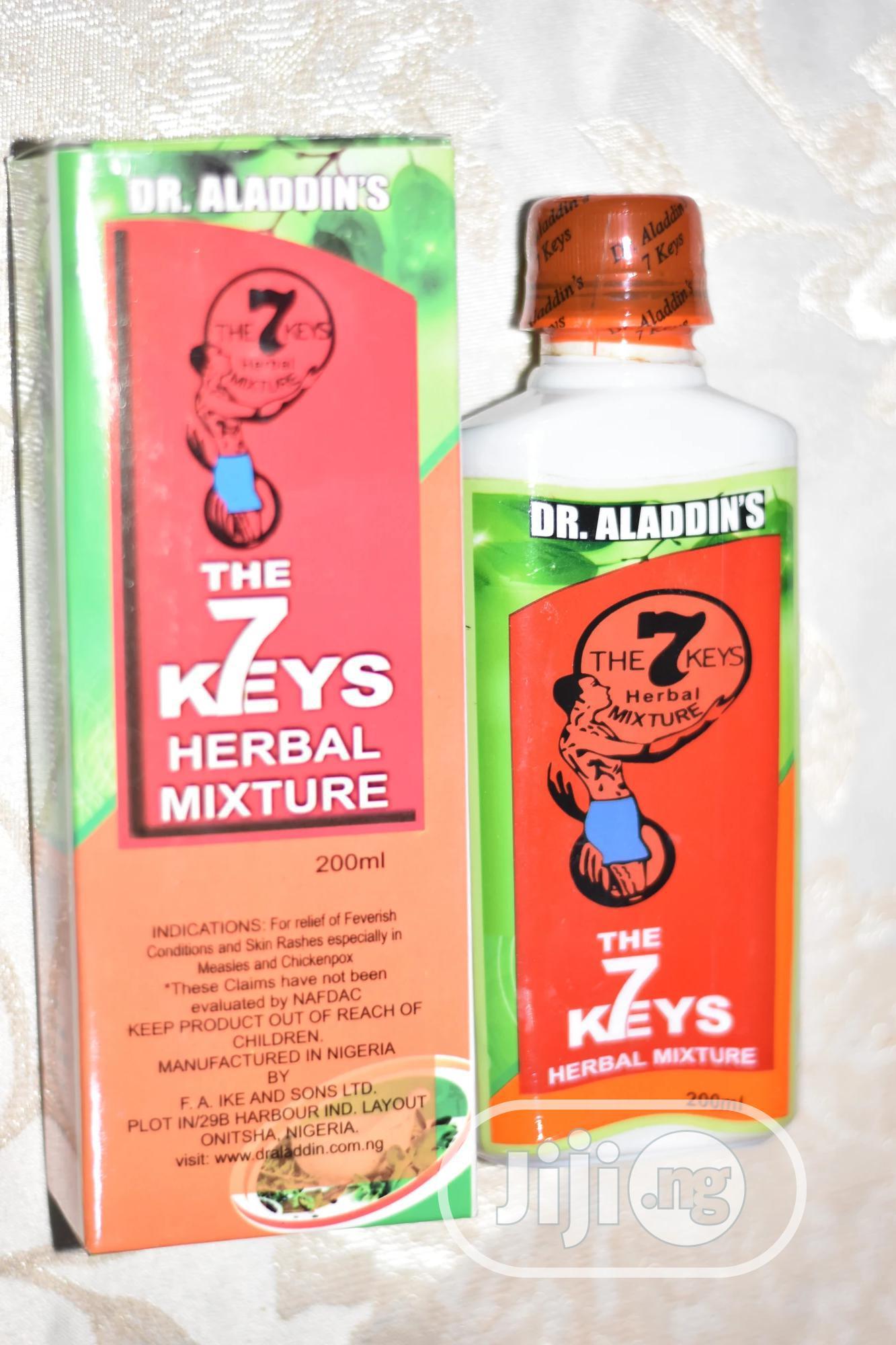 Dr Aladdin's 7 Keys Herbal Mixture