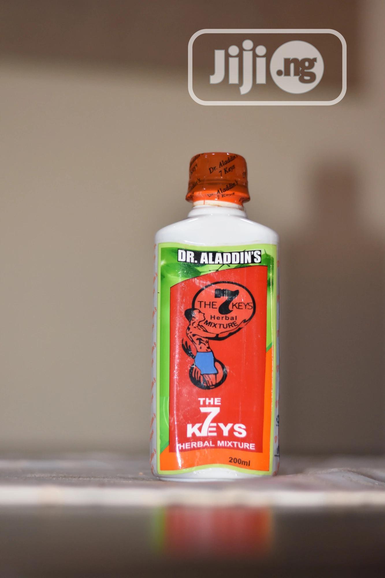 Dr Aladdin's 7 Keys Herbal Mixture | Vitamins & Supplements for sale in Ikeja, Lagos State, Nigeria