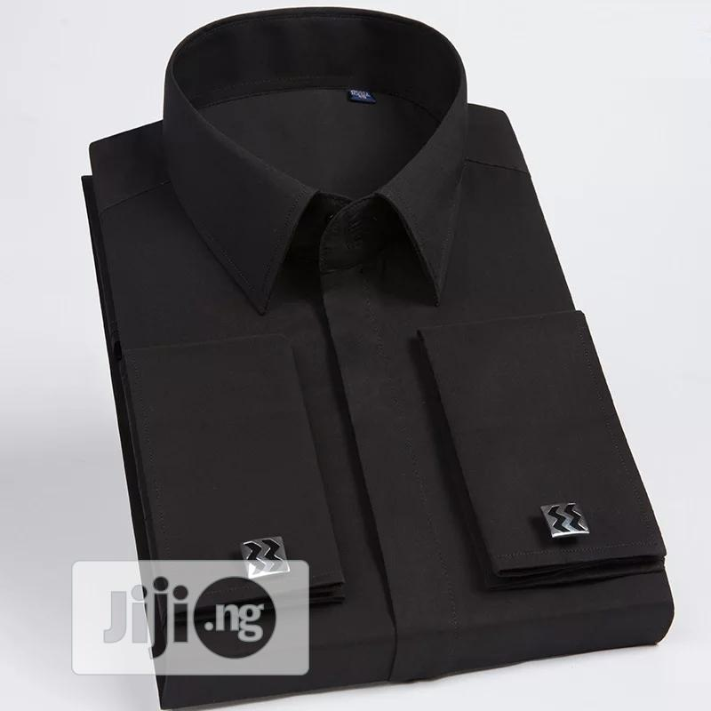 Quality Men Long Sleeve Dress Shirt. | Clothing for sale in Ikoyi, Lagos State, Nigeria