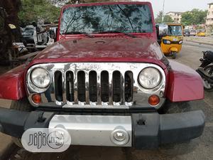 Jeep Wrangler 2016 Sahara 4x4 Red | Cars for sale in Lagos State, Amuwo-Odofin