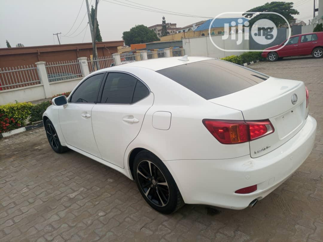 Lexus IS 2009 250 4WD White | Cars for sale in Isolo, Lagos State, Nigeria