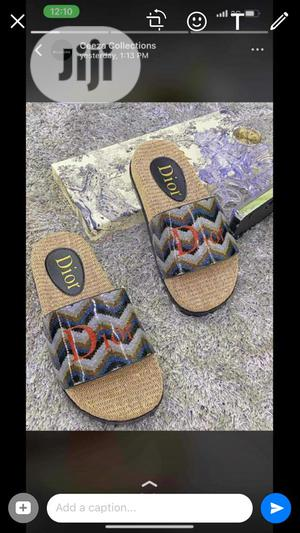 Dior Palm Available in Brown Blue and Brown Red Size 40- 44   Shoes for sale in Lagos State, Lagos Island (Eko)