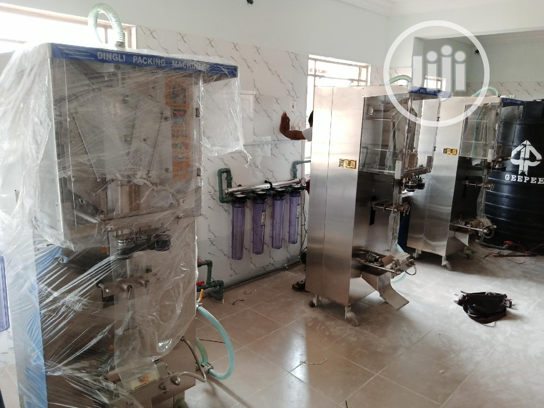 Archive: Sachet Water Machine