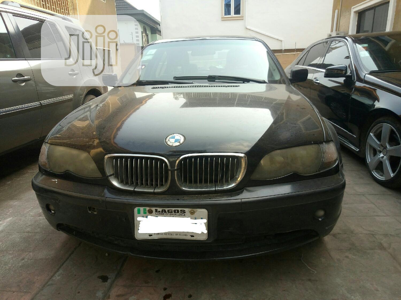 Archive: BMW 316i 2005 Black
