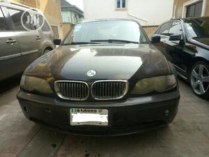 BMW 316i 2005 Black | Cars for sale in Lagos State, Ikeja