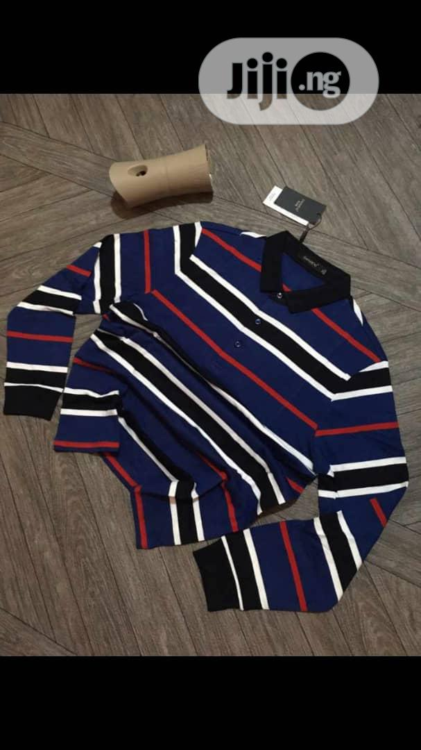 Men Quality Long Sleeve Polo | Clothing for sale in Victoria Island, Lagos State, Nigeria