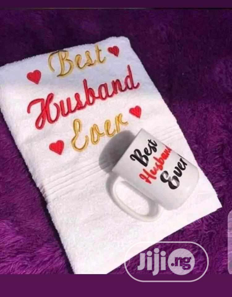 Archive: Customized Monogrammed Towels, Throw Pillow, Mugs, Jotters