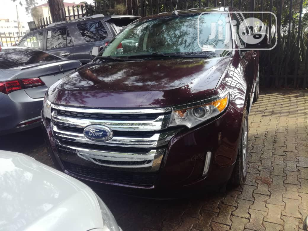 Archive: Ford Edge 2011 Red