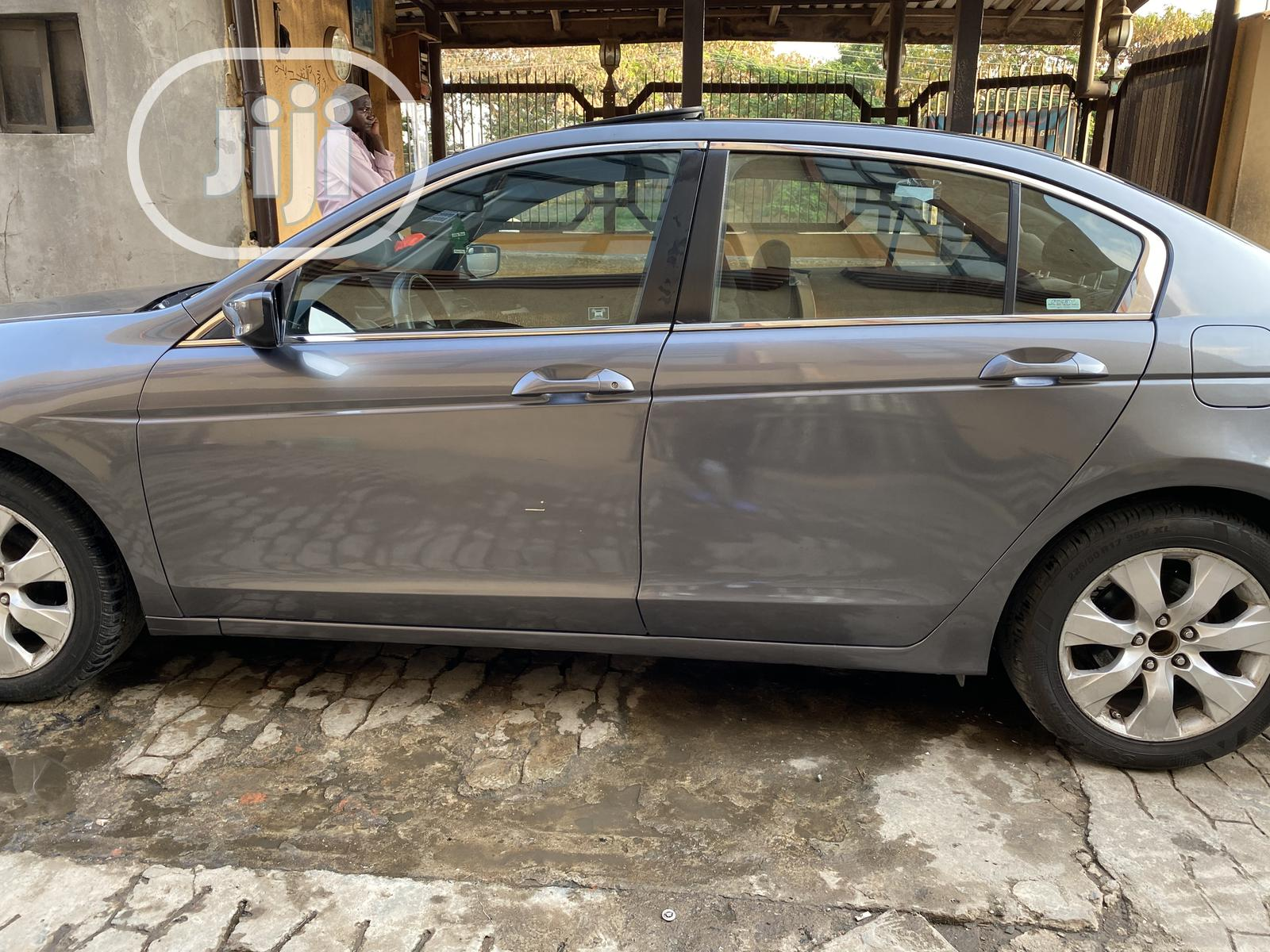 Honda Accord 2008 2.4 EX Automatic Gray | Cars for sale in Gbagada, Lagos State, Nigeria