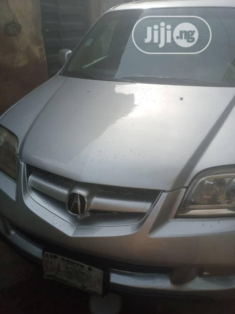 Archive: Acura MDX 2004 Touring Package Silver
