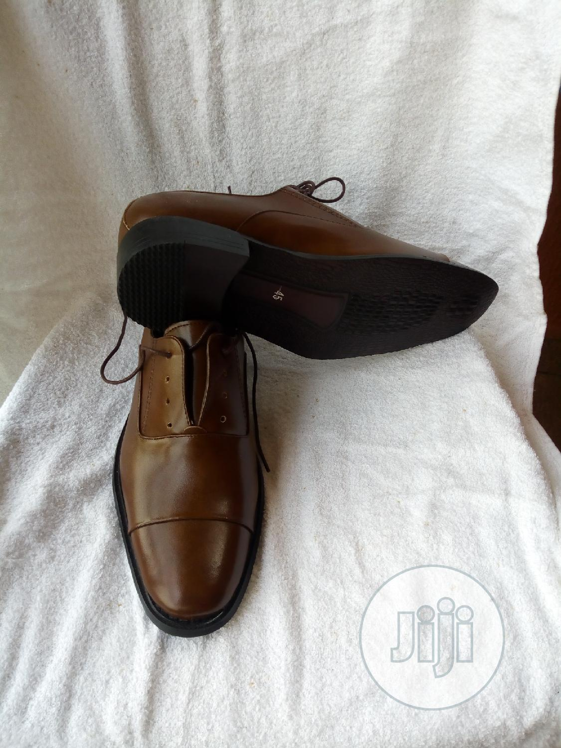 Archive: Brown Luxury Leather Shoes