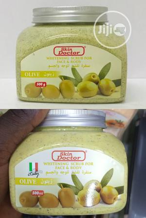 Skin Doctor Olive Whitening Scrub For Face & Body. Italy   Skin Care for sale in Lagos State, Apapa