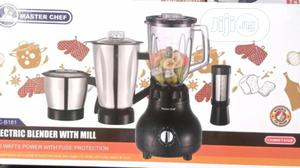 Master Chef Electric Blender With Mill | Kitchen Appliances for sale in Lagos State, Lagos Island (Eko)