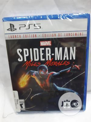 SONY Ps5 Cd Spiderman Miles Morales/Launch Edition | Video Games for sale in Lagos State, Ikeja