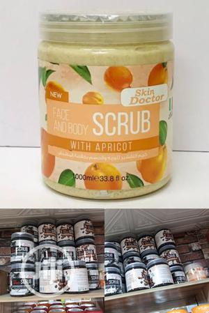 Skin Doctor Face & Body Scrub Wit Apricot-exfoliating 1000ml   Skin Care for sale in Lagos State, Apapa