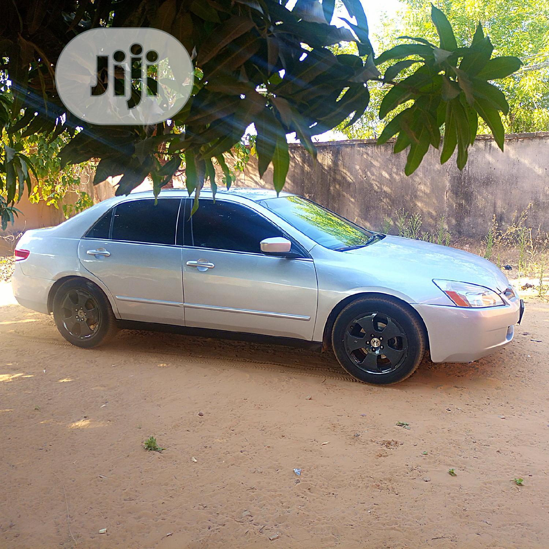 Honda Accord 2003 2.4 Silver | Cars for sale in Birnin Kebbi, Kebbi State, Nigeria