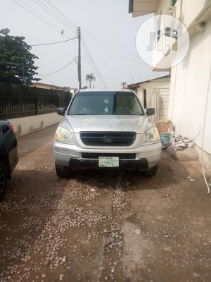 Honda Pilot 2004 EX-L 4x4 (3.5L 6cyl 5A) Silver | Cars for sale in Oyo State, Ibadan