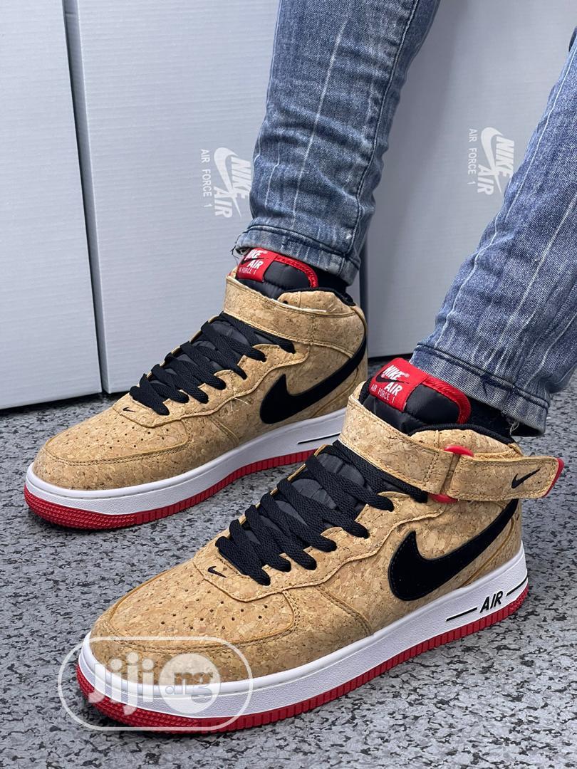 Nike Air Force High Top Sneakers