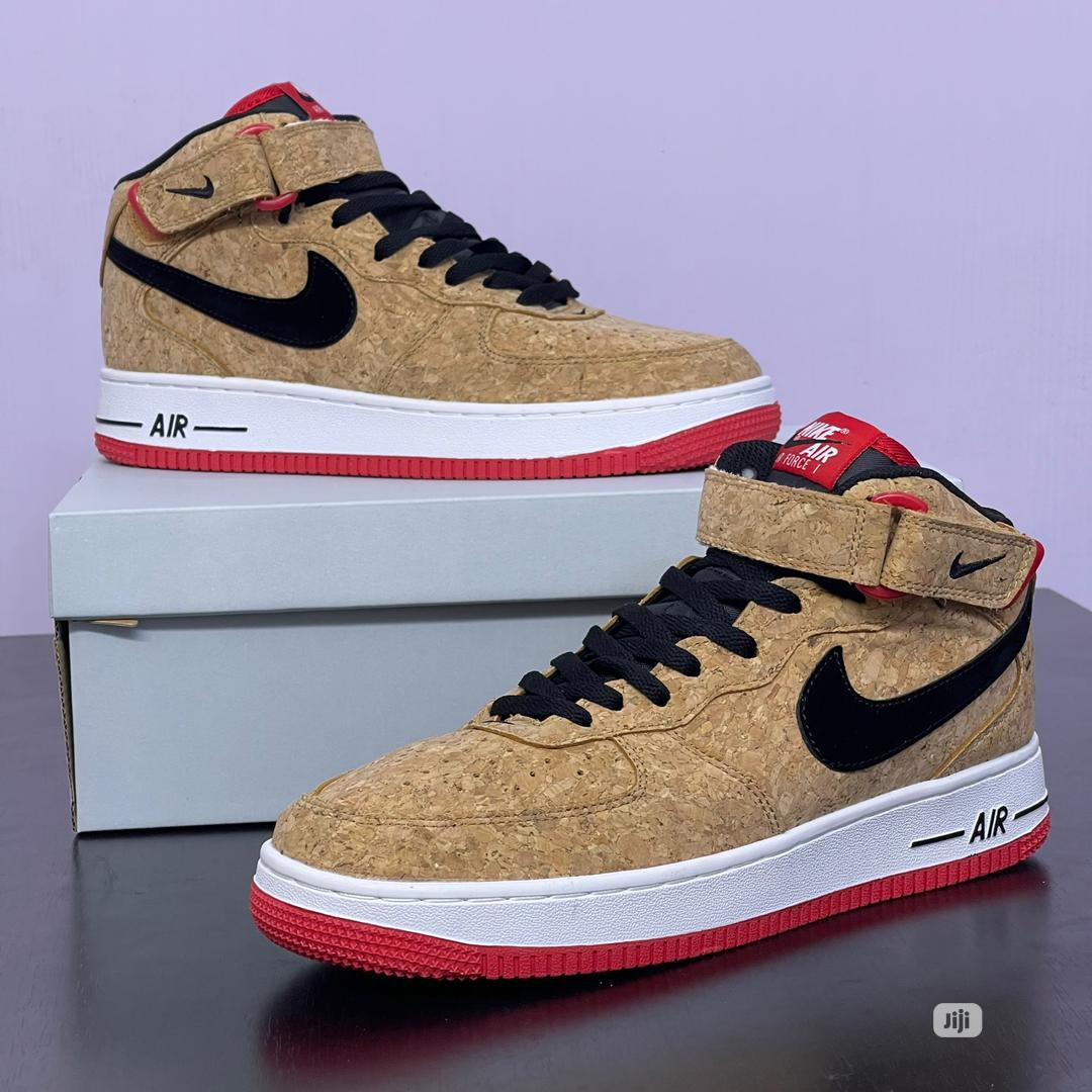 Nike Air Force High Top Sneakers | Shoes for sale in Lagos Island (Eko), Lagos State, Nigeria