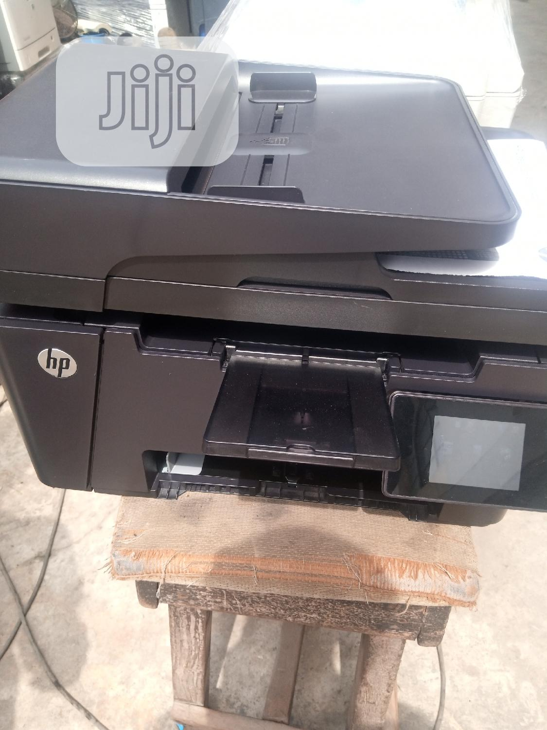 HP Laserjet Pro Mfp M127 3in1 Black And White   Printers & Scanners for sale in Surulere, Lagos State, Nigeria