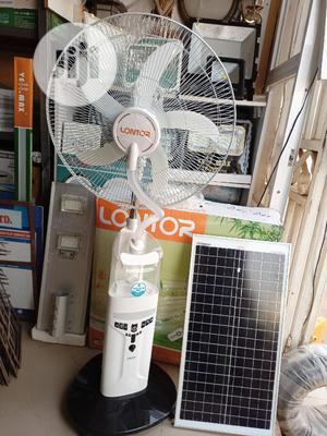 18inchs Rechargeable Mist Solar Fan | Home Appliances for sale in Abuja (FCT) State, Kubwa