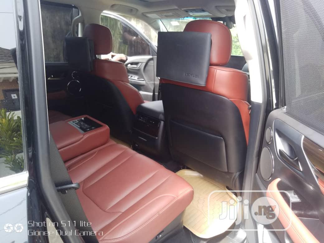 Lexus LX 2020 570 Three-Row Black | Cars for sale in Lekki, Lagos State, Nigeria