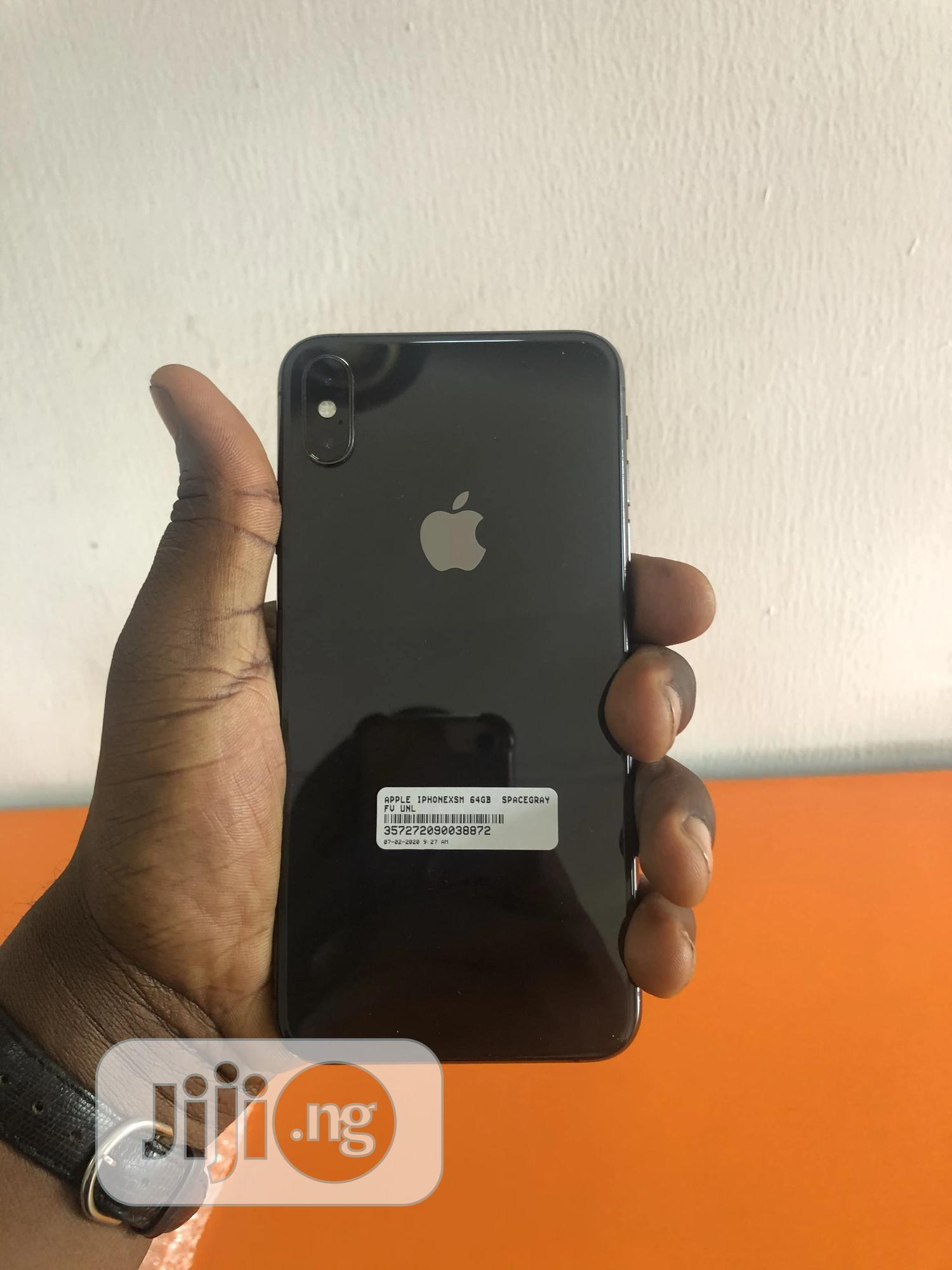 Apple iPhone XS Max 64 GB Black | Mobile Phones for sale in Osogbo, Osun State, Nigeria