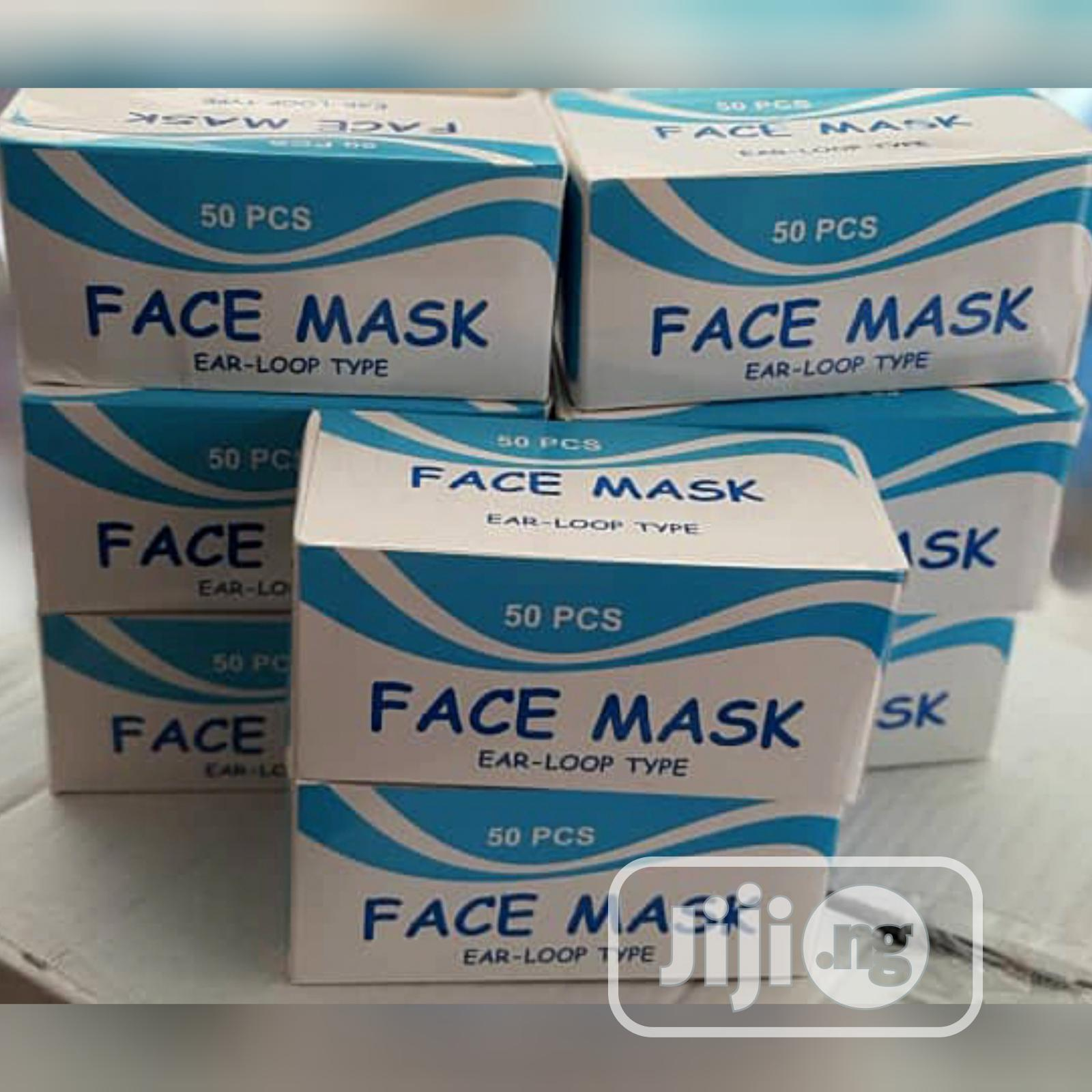 Disposable Face Mask | Medical Equipment for sale in Lagos Island (Eko), Lagos State, Nigeria