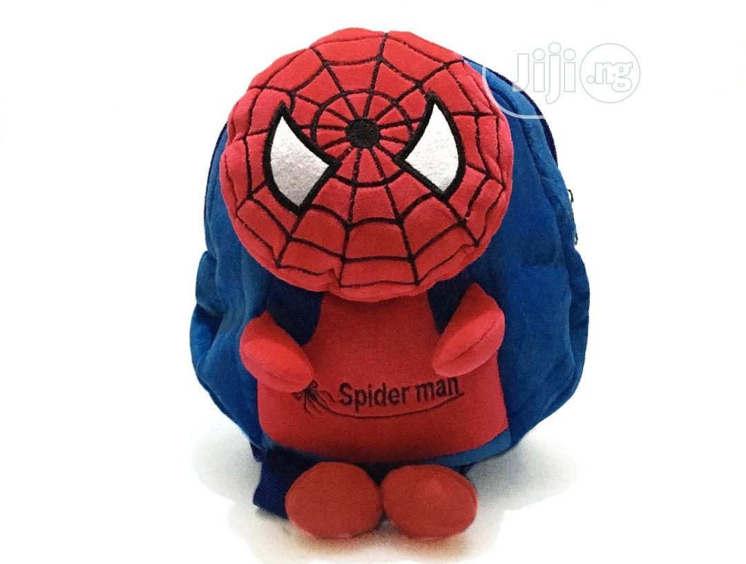 Archive: 3D Baby Boy's Spiderman Plush Backpack