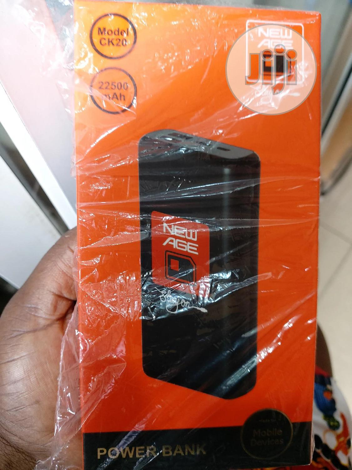 22,000 New Age Power Bank | Accessories for Mobile Phones & Tablets for sale in Ikeja, Lagos State, Nigeria