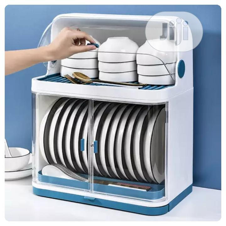 Durable Dish Rack With Cover