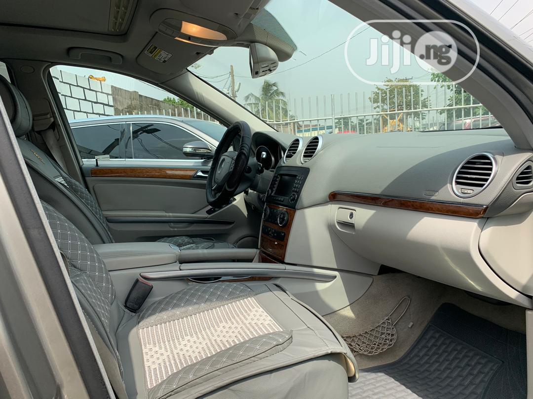 Mercedes-Benz GL Class 2007 GL 450 Gold | Cars for sale in Ikeja, Lagos State, Nigeria