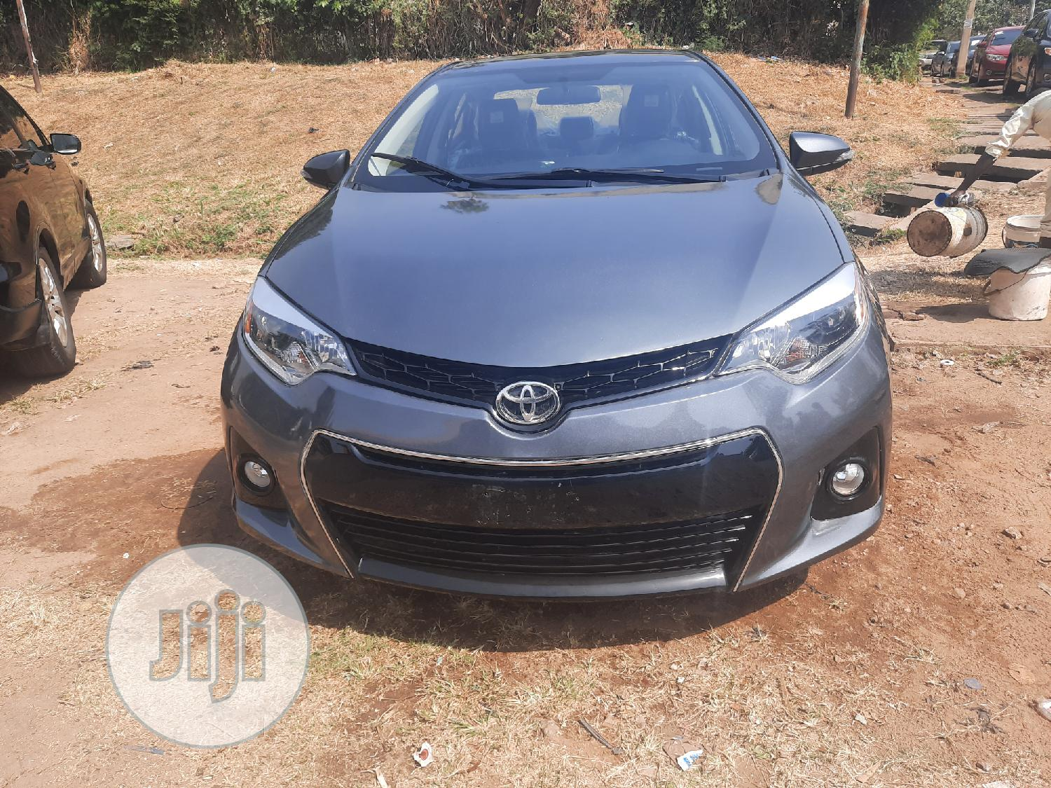 Toyota Corolla 2015 Gray | Cars for sale in Wuse 2, Abuja (FCT) State, Nigeria