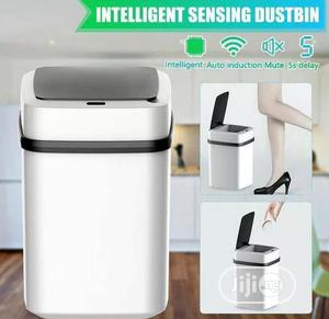 Automatic Sensor Trash Can Touchless Smart Sensor Dustbin   Home Accessories for sale in Lagos State, Ogba