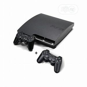 Sony Playstation 3 Console SLIM 320GB WITH 2pad   Video Game Consoles for sale in Lagos State, Ikeja