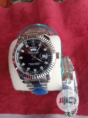 Rolex Wrist Watch And Wrist Band | Watches for sale in Lagos State, Surulere