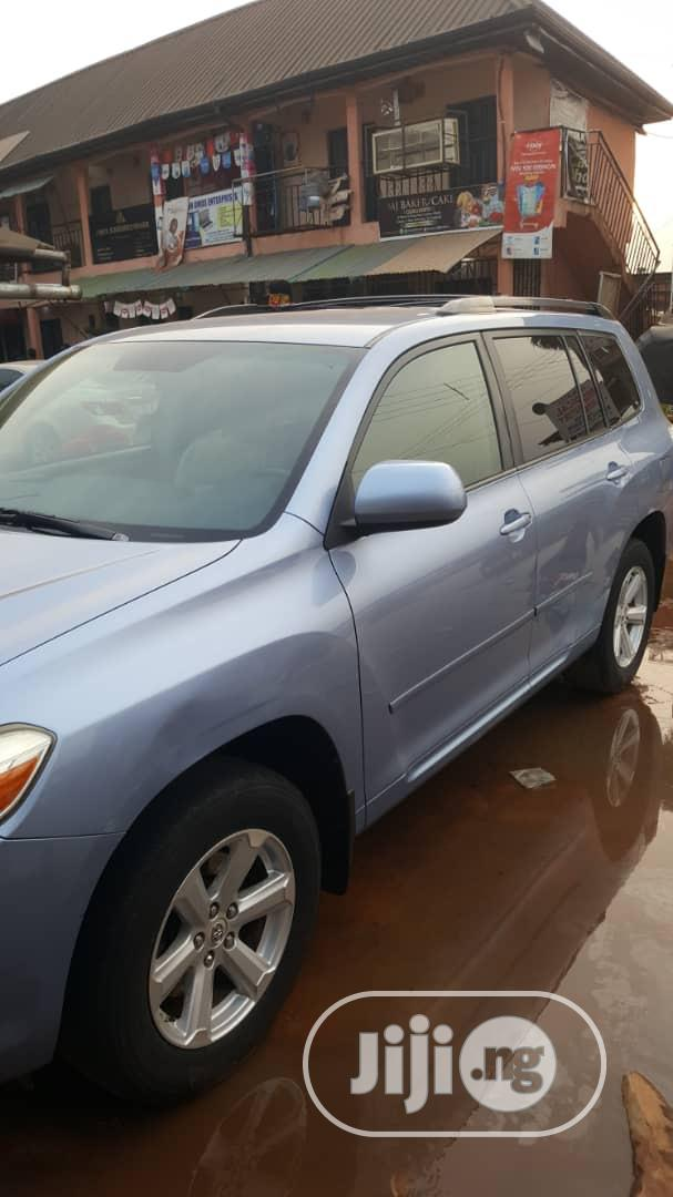 Toyota Highlander 2009 Limited 4x4 Blue