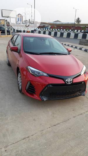 Toyota Corolla 2018 LE (1.8L 4cyl 2A) Red | Cars for sale in Lagos State, Ikeja