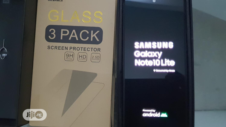 Samsung Galaxy Note 10 Lite 128 GB Black | Mobile Phones for sale in Lekki, Lagos State, Nigeria