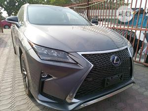 Lexus RX 2017 450h F Sport AWD Gray | Cars for sale in Lagos State, Amuwo-Odofin