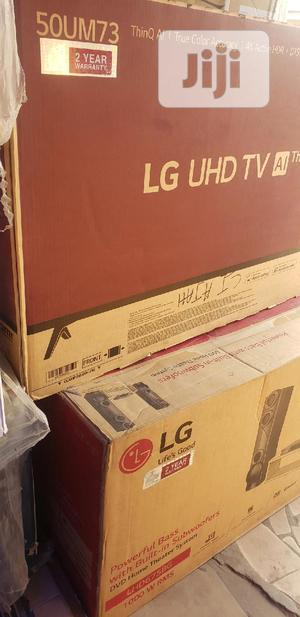 Korea LG 55inches Straight Smart Television. | TV & DVD Equipment for sale in Lagos State, Ajah