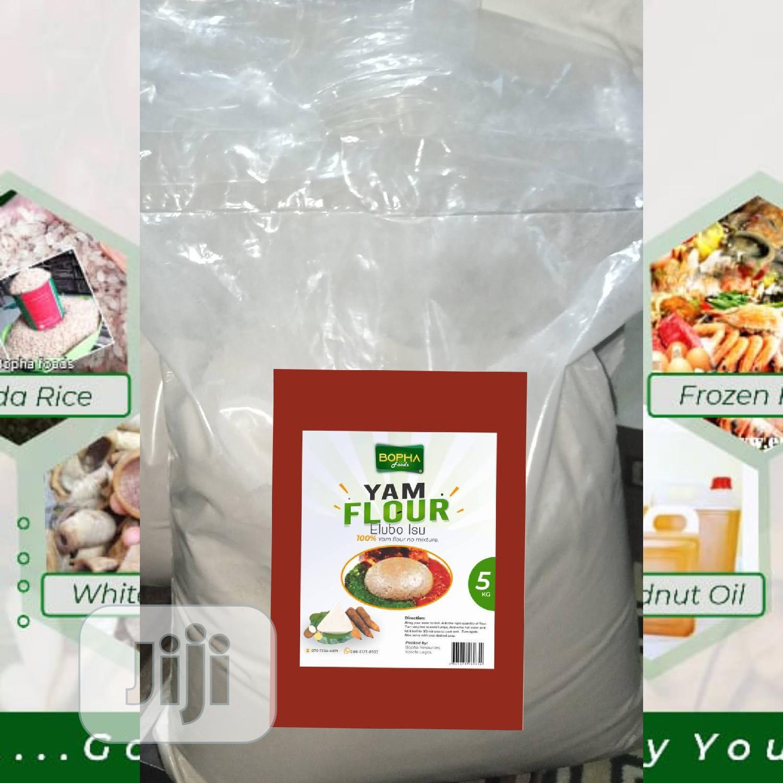 Archive: Yam Flour(Gbodo)-5kg