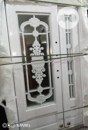 White Copper Swing Glass Door 4ft   Doors for sale in Lagos State, Egbe Idimu