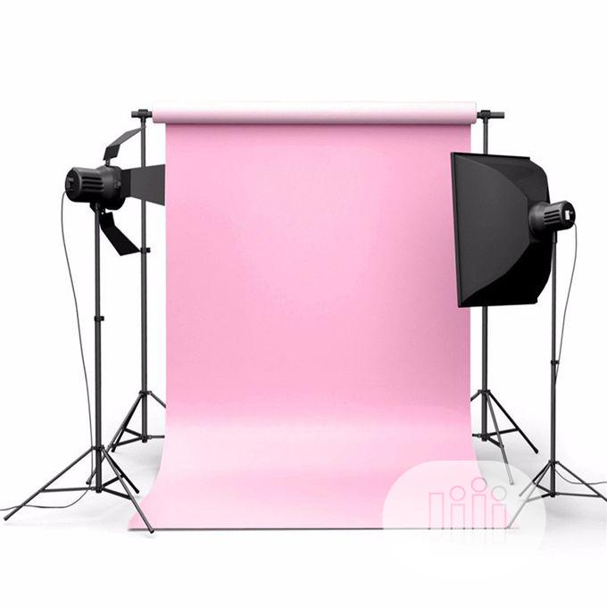 Backdrop 5x7ft Pure Pink Color Photography Background